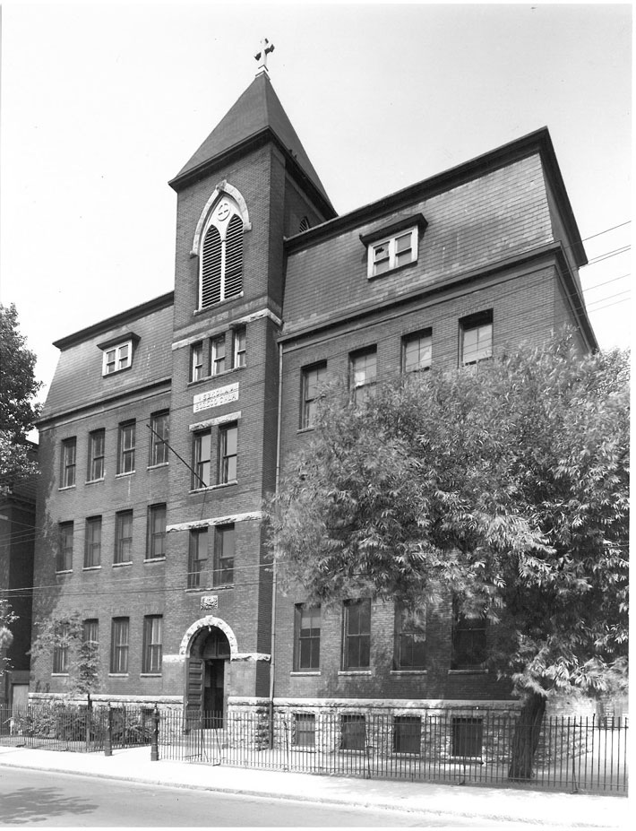 FSSJ History - Corpus Christi School